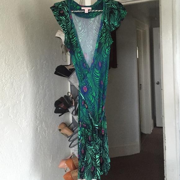 H M Dresses   Skirts - Matthew Williamson H M dress peacock ... 75bcf85d8