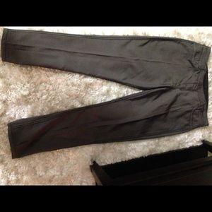 Denim & Co 2 sided skinny stretch jeans