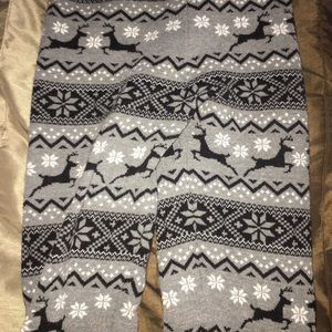 Holiday thick leggings !