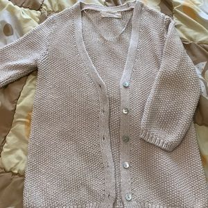 Zara knit cardigan!