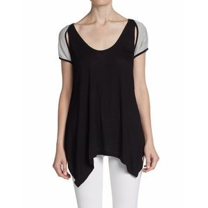 aiko Tops - Aiko cut out Flowy top