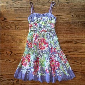 NWT Nanette Lepore floral organza dress