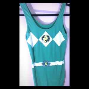 Mighty Fine Tops - Power Rangers dress/tunic