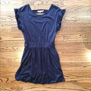 See by Chloe navy jersey dress
