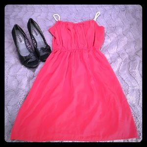 one clothing Dresses & Skirts - S, One Clothing, Red Dress with Rope Straps