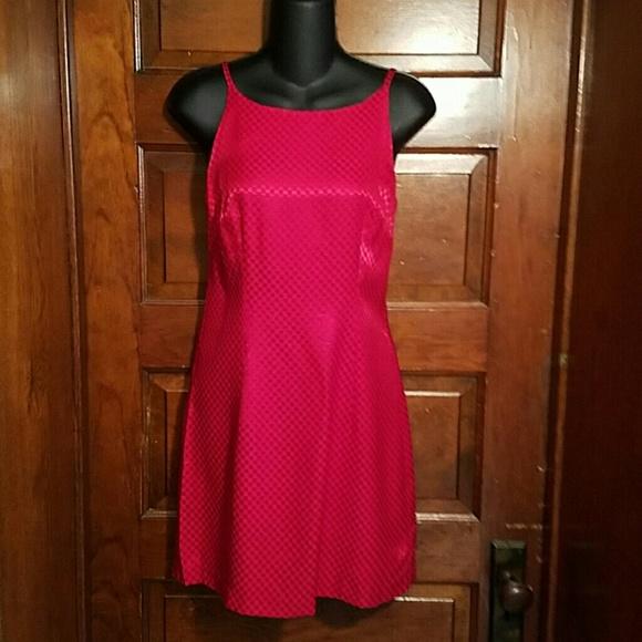 All That Jazz  Dresses & Skirts - Raspberry Red All That Jazz Mini Dress 5/6