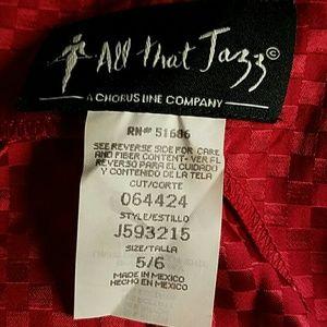 All That Jazz  Dresses - Raspberry Red All That Jazz Mini Dress 5/6