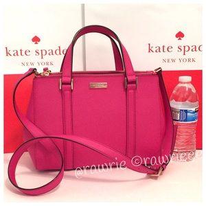 SALE New Kate Spade Loden Saffiano Leather Satchel