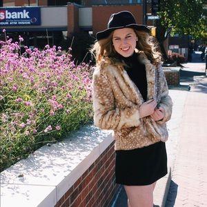 a612e38656c MINKPINK Jackets   Coats - NWT Mink pink faux fur oh deer jacket