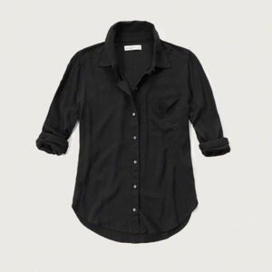 Abercrombie and Fitch drapey shirt