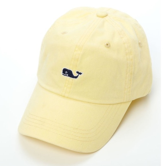 Accessories - NWOT pastel Yellow Vineyard Vines hat 9814b31f8c9