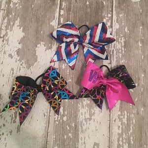 nfinity Other - 🎀Bundle of 3 Cheer Bows🎀