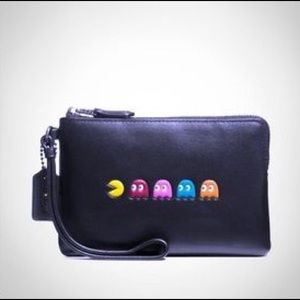 NWT Coach Pacman Limited Edition Wristlet