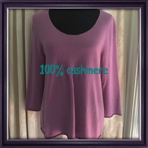 """Garnet Hill Sweaters - """"I Long For Lilac"""" NWT SWEATER 💜💜"""