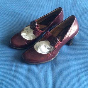 Maroon merona heels