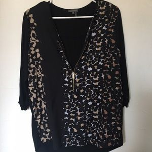 Vince Camuto zipper top