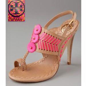 Tory Burch Shoes - 🔥{Tory Burch} high heel sandals 🎉HPx2