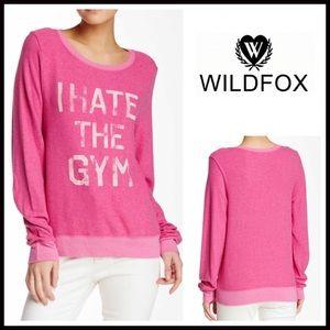 Wildfox Tops - ❗1-HOUR SALE❗WILDFOX SWEATSHIRT I Hate The Gym