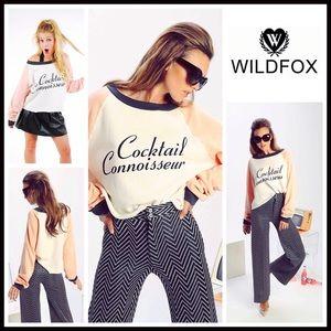 Wildfox Tops - ❗1-HOUR SALE❗WILDFOX SWEATSHIRT COCKTAIL