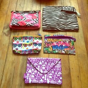 Cosmetic bags and travel case