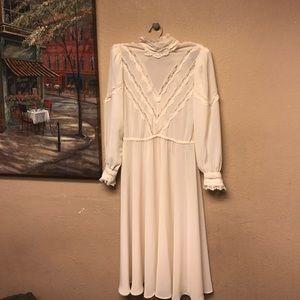 Vintage Dresses & Skirts - Vintage chiffon dress