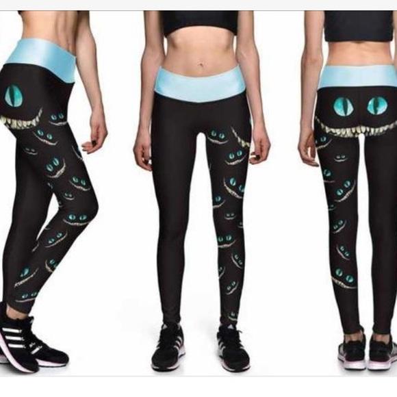fa57a1ba9023b Lotus Leggings Pants - Lotus leggings Cheshire Cat: we're all mad here