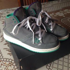 Jordan Other - A pair of Girls Kids Jordan 1 Flight shoes