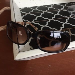 Coach tortoise sunglasses