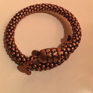 Alex And Ani Jewelry Alex Ani Mickey Mouse Metal Wrap Bracelet