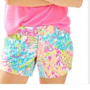 NWT Lilly Pulitzer Callahan shorts lovers coral