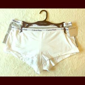 NWT Calvin Klein boy shorts - 2 pair SET 💝 m