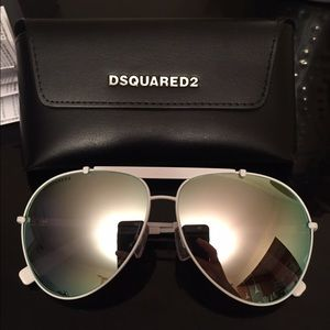 DSQUARED Accessories - Mirrored Aviator DSquared2 sunglasses