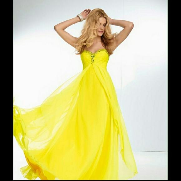 Mori Lee Dresses | Nwt Yellow Pageant Dress | Poshmark