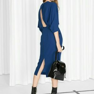 &other stories Blue Dress  US 8/ EUR 38
