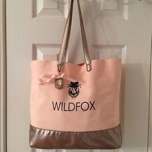  Wildfox Dreams Peachy Gold Tote Bag