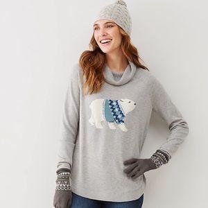 Polar bear  sweater tunic