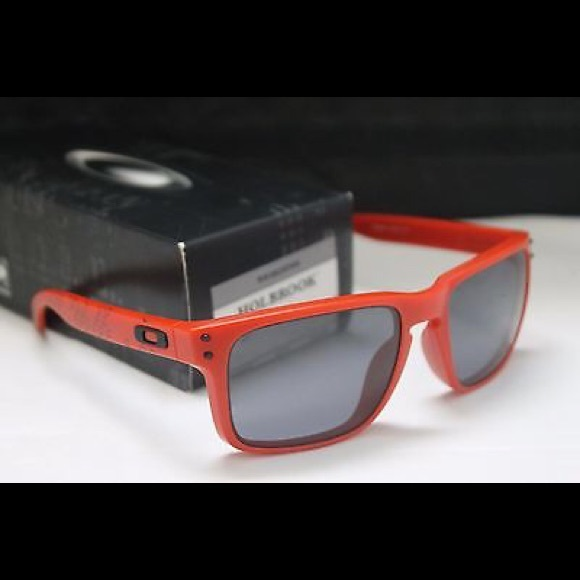 ed58702377465 ... order new oakley holbrook sunglasses matte red 38f04 6264c