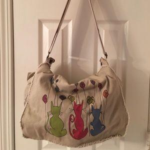 Independent Designer Handbags - 🛍 I 💕 Cats Cross Body Bag