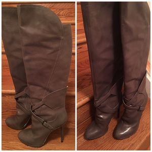 Brian Atwood Shoes - Brian Atwood leather knee high boots!