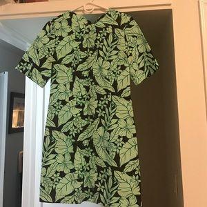 Zara print dress