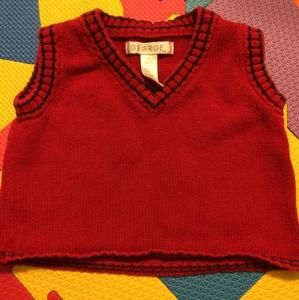 Other - George Red Knit Vest