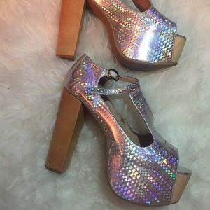 Jeffrey Campbell Hologram Platforms