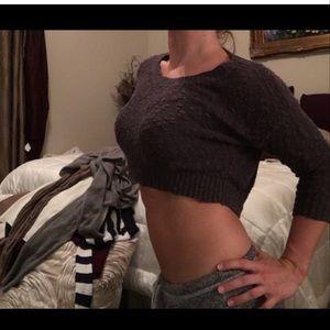 Guess crop sweater
