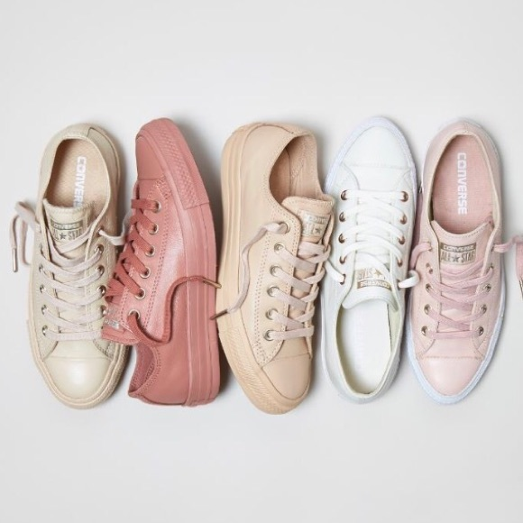 3c35503344f20e Converse Holiday Nude Rose Gold