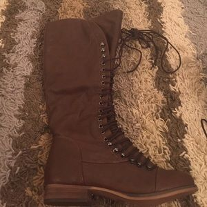 Spool 72 Shoes - Lace Up Brown Boots