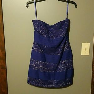 NWT blue mini dress by Gianni Bini