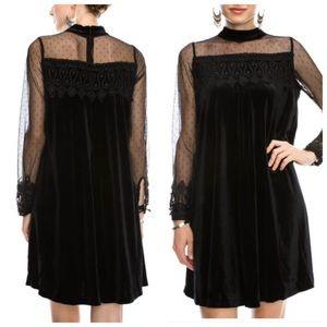 Doe Mae Dresses & Skirts - Holiday Velvet Dress