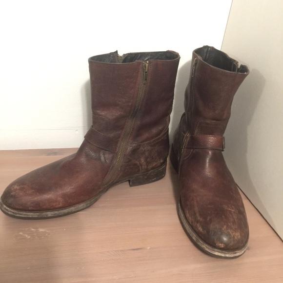 mens frye shoes 10.5