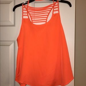 Urban Outfitters Tops - Ali & Kris Neon Orange Strappy Top Tank Top