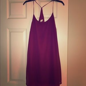 Urban Outfitters Dresses & Skirts - SOLD ❌ URBAN OUTFITTERS Burgundy Strap Dress